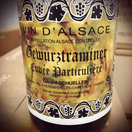 Domaine Schueller Gewurtztraminer Cuvée Particulière 2014