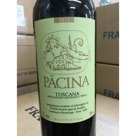 Azienda Pacina Toascan rouge 2011
