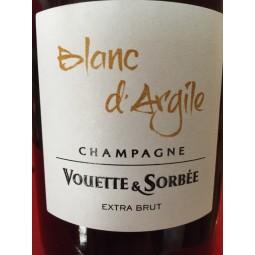 Domaine Vouette et Sorbée Champagne blanc de blancs Blanc d'Argile (d. 2018)