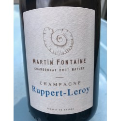 Ruppert-Leroy Champagne Blanc de Blancs Martin Fontaine (2014)