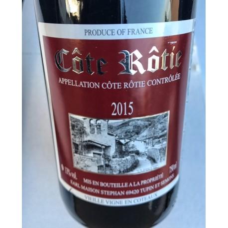 Jean-Michel Stéphan Côte Rôtie Vieilles Vignes en Coteaux 2015