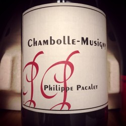 Philippe Pacalet Chambolle-Musigny 2012