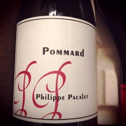 Philippe Pacalet Pommard 2010