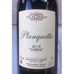 Planquette Vin de France 2015