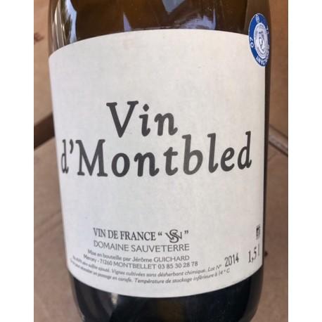 Domaine Sauveterre Vin de France blanc Vin de Montbled 2015 Magnum