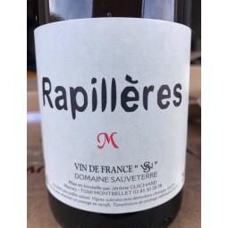 Domaine Sauveterre Vin de France blanc Rapillères macération 2016