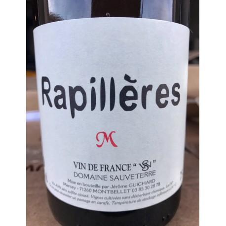 Domaine Sauveterre Vin de France blanc Rapillières macération 2015