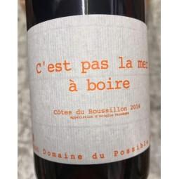 Domaine du Possible Côtes du Roussillon C'est pas la Mer à Boire 2016
