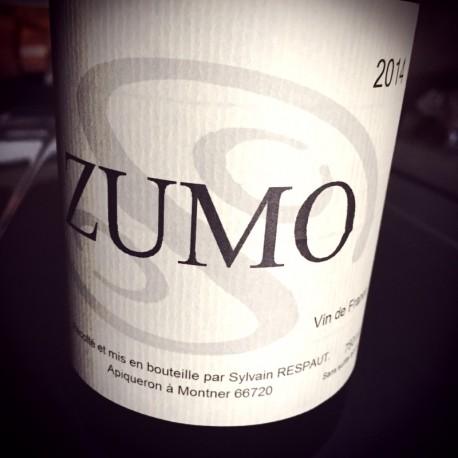 Sylvain Respaut Vin de France blanc Zumo 2014