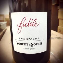 Domaine Vouette et Sorbée Champagne Brut Blanc de Noirs Fidèle (d. 2017)