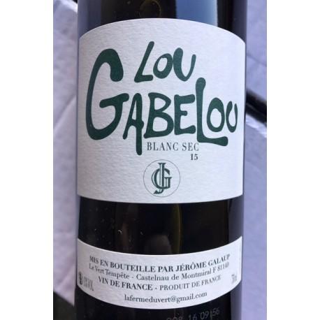 Jérôme Galaup Gaillac blanc Lou Gabelou 2016