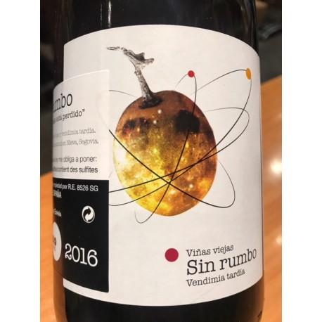 Ismael Gozalo/Microbio Wines Vino de la Tierra de Castilla y Leon Sin Rumbo 2016