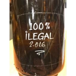 Ismael Gozalo/Microbio Wines Vino de la Tierra de Castilla y Leon 100% Ilegal 2016