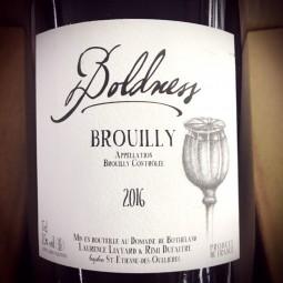 Laurence & Rémi Dufaitre Brouilly cuvée Boldness 2016 Magnum