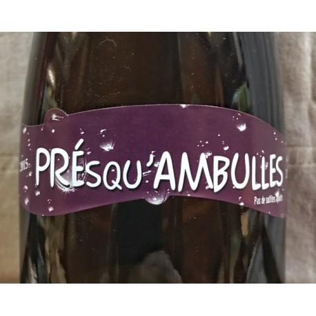 Domaine de Causse Marines Vin de Table blanc pét' nat Presqu'ambulles 2015