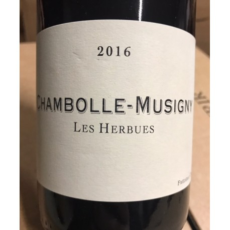 Frédéric Cossard Chambolle Musigny 2014