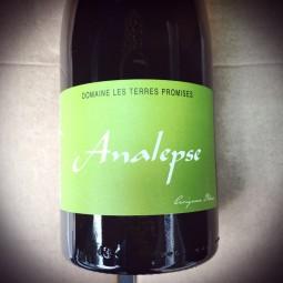 Domaine les Terres Promises Vin de France blanc Analepse 2016