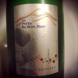 Domaine Belluard Vin de Savoie mousseux Méthode Traditionnelle Ayse Perles du Mont Blanc 2015