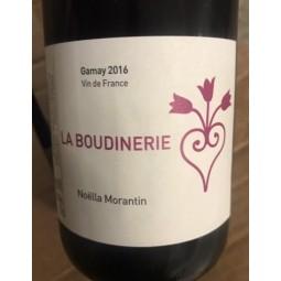 Noella Morantin Vin de France rouge La Boudinerie 2016