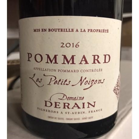 Domaine Derain Pommard Petits Noizons 2016