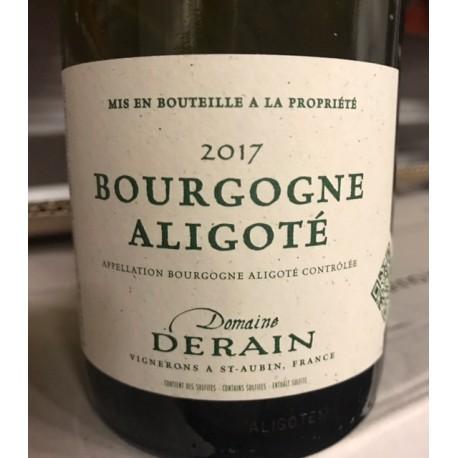 Domaine Derain Bourgogne-Aligoté 2017