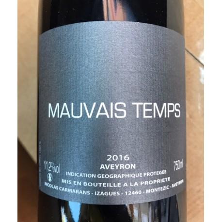 Nicolas Carmarans IGP Aveyron Mauvais Temps 2016