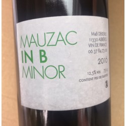 M&B Dekeirle Vin de France blanc Mauzac In B Minor 2016