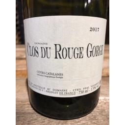 Clos du Rouge Gorge Vin de Pays des Côtes Catalanes Blanc 2017