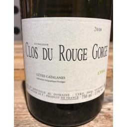 Clos du Rouge Gorge Vin de Pays des Côtes Catalanes L'Ubac Blanc 2016