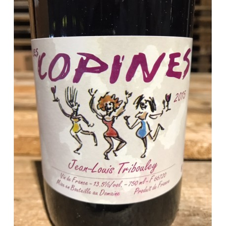 Jean-Louis Tribouley Côtes du Roussillon Les Copines 2015