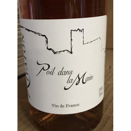 Domaine Rivaton Vin de France rosé Poil dans la Main 2017