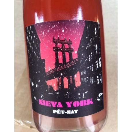 Ismael Gozalo/Microbio Pet Nat rosé Nieva York 2017