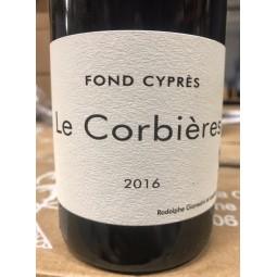 Fond Cyprès Corbières 2016