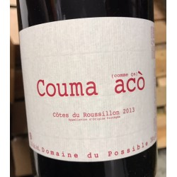 Domaine du Possible Côtes du Roussillon Couma Acò 2014