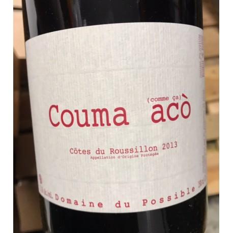 Domaine du Possible Côtes du Roussillon Couma Acco 2014