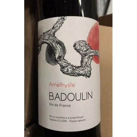 Stéphan Elzière Vin de Pays du Puy de Dôme Badoulin Améthyste 2014