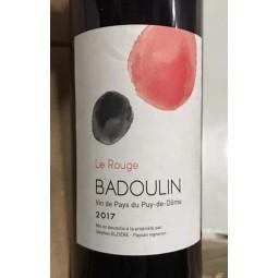Stéphan Elzière IGP Puy de Dôme Badoulin Le Rouge 2017