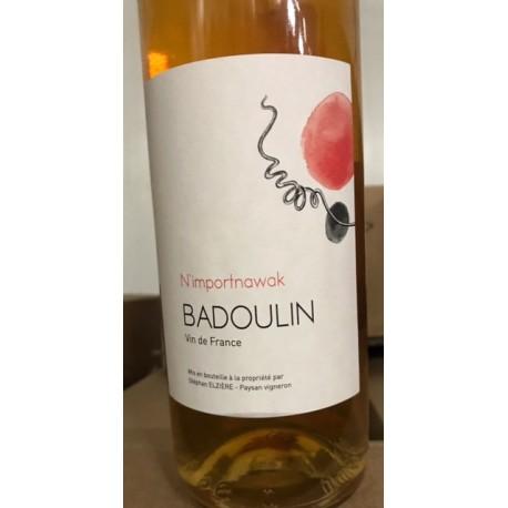 Stéphan Elzière Vin de France blanc Badoulin N'importanawak 2016