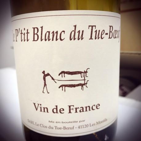 Clos du Tue Boeuf Vin de France blanc Le P'tit Blanc 2017 Magnum