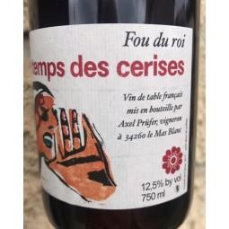 Le Temps des Cerises Vin de France Fou du Roi 2017
