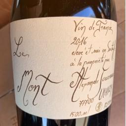 Alexandre Jouveaux Vin de France Le Mont 2016 Magnum