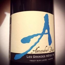 Domaine Alexandre Bain Vin de France Les Grandes Hâtes 2015