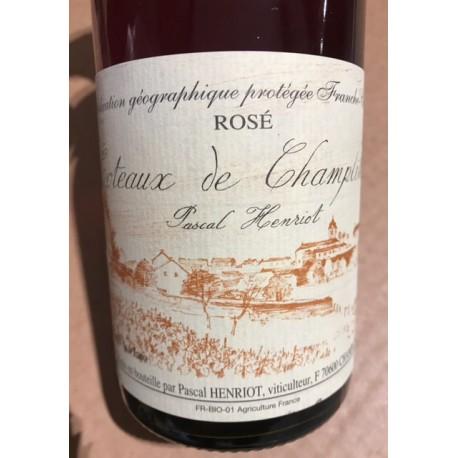 Pascal Henriot Coteaux de Champlitte rosé 2017