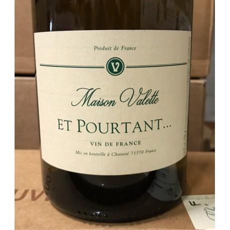 Domaine Valette Vin de France Et Pourtant 2015 Magnum