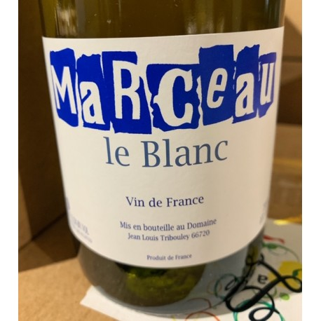 Jean-Louis Tribouley Vin de France blanc Marceau 2017