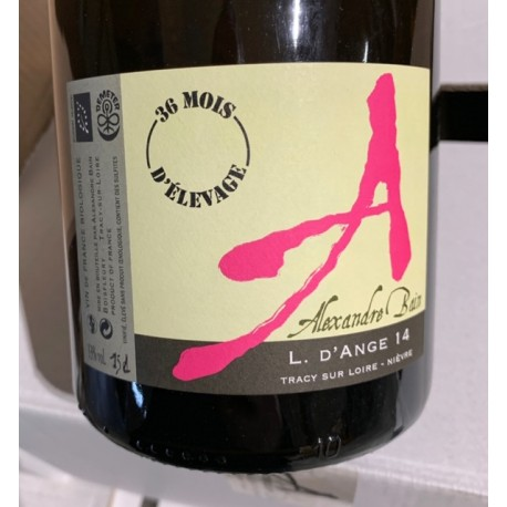 Domaine Alexandre Bain Vin de France L d'Anges 36 mois 2014 Magnum