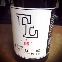 La Folie Lucé Saumur-Champigny Encore 2014