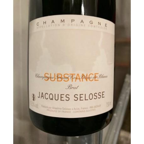 Selosse Champagne Brut Substance (dégorgement 2018)