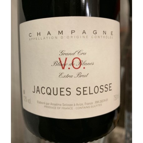 Selosse Champagne Extra Brut VO (dégorgement 2018)