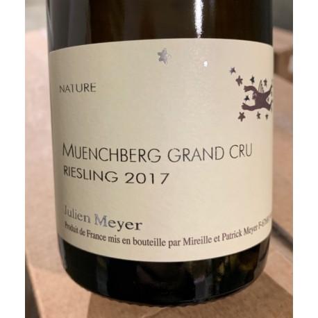 Domaine Julien Meyer Alsace Riesling Grand Cru Muenchberg 2017